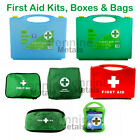 FIRST AID KITS Boxes Bags HSE Catering Burns Bum Bags Refills Office Pub Factory