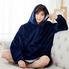 Huggle Hoodie Ultra Plush Blanket Hoodie Soft and Warm, One Size - As Seen On TV image