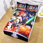 Single Double Twin Full Queen King Bed Set Pillowcase Quilt Cover RAUt Wars xqlz