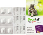 DRONTAL PLUS BEEF flavour for Dogs TAPE&ROUNDWORMER exp. 3/2023