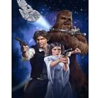 DIAMOND PAINTING - STAR WARS FIGURES TRIO - FULL ROUND - multi size $17.95 AUD on eBay