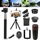 All in 1 Accessories Phone Camera Telephoto Lens Selfie Tripod Kit For Mobile US