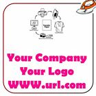 your logo company url hen party print iron on fabric heat transfer top t shirt
