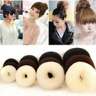 4Sizes Big Hair Styling Donut Bun Maker Ring Style Bun Scrunchy Sock Poof Bump