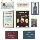 Vintage Signs. Wall Plaques Hanging Shabby Chic Cool Kitchen Food Drink Gift