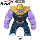 50+ 7CM Marvel Super Heroes MiniFigures Blocks Big Hulk Batman Thanos Avengers