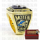 San Diego Chargers 1994 Super Bowl Champions Rings Eric Moten Box Brass Replica $45.0 USD on eBay