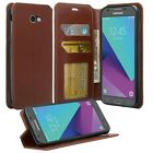 For Samsung Galaxy Express Prime 2/Amp Prime 2/Sol 2 Leather Wallet Case Cover