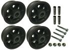 "4 Heavy Duty Caster Wheels Set 4"" 5"" 6"" 8""  V-Groove Wheel Set With Bearing&Kit"
