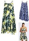 New Ladies M&S Marks And Spencer Floral Beach Swing Strappy Cami Summer Dress