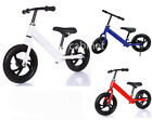 'Kids Balance Bike Metal Boys Girls Kids Childrens Running Training Bike Bicycle