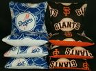 Set Of 8 Los Angeles Dodgers San Francisco Giants Cornhole Bags FREE SHIPPING on Ebay