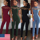 Women Jumpsuit Romper Casual Sleeveless Pants Playsuit Clubwear Trousers Outfit
