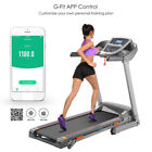 3.0hp Electric Folding Treadmill Commercial Fitness Training Equipment Bluetooth