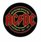AC/DC Patch Highway to Hell Rock or Bust Angus band logo Official New Sew On