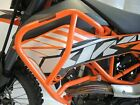 KTM 690 Enduro R 2008-2018 RD Moto Crash Bars Protectors Upper CF92 New