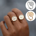 Travel Wanderlust Compass Ring Vintage Jewelry for Women Men Graduation Gifts