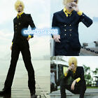 OnePiece New World Two years later Sanji Cosplay Costume Free shipping