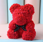 Ours Rose Teddy Bear Grand Enorme 38CM Pe Mousse Rose Cadeau De Saint Valentin