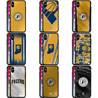 OFFICIAL NBA INDIANA PACERS BLACK HYBRID GLASS BACK CASE FOR iPHONE PHONES on eBay