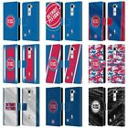 OFFICIAL NBA DETROIT PISTONS LEATHER BOOK WALLET CASE COVER FOR LG PHONES 2 on eBay