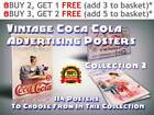 115 Vintage Coca-Cola Advertising Prints / Posters, Collection 2, Size A4 / A3 £7.99  on eBay
