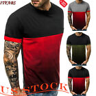 Men's Fashion Slim Fit Polo Shirts Short Sleeve Casual Golf T-Shirt Jersey Tops