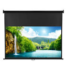 """100""""/120""""/70""""X70"""" 1:1/4:3/16:9 HD 1080P Projector Screen Video Movie Projection"""