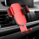 Universal Baseus Aluminum Car Holder Air Vent Mount For iPhone X XR Samsung GPS