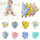 Внешний вид - Baby Bandana Saliva Towel Triangle Dribble Bibs Infant Boy Girl Feeding Soft Bib