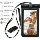 Compass + Waterproof Bag Underwater Armband Pouch Dry Case Cover For Cell Phone