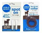 Pride & Groom 2 Pack Spot On Dogs Puppies Collar Flea Tick Treatment Repellent $3.61 USD on eBay