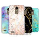 HEAD CASE DESIGNS GLITTERY MARBLE PRINTS HARD BACK CASE FOR LG PHONES 1