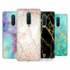 HEAD CASE DESIGNS GLITTERY MARBLE PRINTS SOFT GEL CASE FOR AMAZON ASUS ONEPLUS