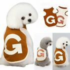 for Small Puppy Dog Cat Vest G Letter Clothes Pet Dog Apparel Costume HOT SALE