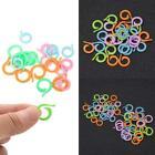 20pcs/set Colorful Split Ring Stitch Marker Diy Crochet Knitting Tool Supplies