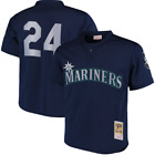 Ken Griffey Jr. Seattle Mariners Mitchell Ness Cooperstown Mesh Batting Jersey on Ebay