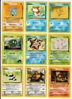 Pokemon 1st Edition Basic Card PICK Select ONE FROM DROP DOWN MENU Free Shipping