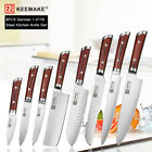 KEEMAKE Japanese 7 inch Nakiri Chef's Knife Stainless Steel Kitchen Knife Cutter