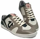 TRUE RELIGION TR155111-G45 JUSTAN LOW Mn's (M) Grey/White Leather Casual Shoes