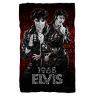 ELVIS PRESLEY COMBACK PERFORMANCE FLEECE THROW BLANKET 36X58