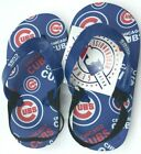Chicago Cubs Flip Flops - Youth All Sizes - Genuine MLB Apparel on Ebay