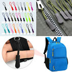 10Pcs Zip Puller Zipper Pulls Cord Replacement fastener Slider Jacket Backpack #