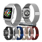 Apple Watch Band with Case, Milanese Stainless Steel  iWatch Strap Series 4 3 2 image