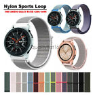 Nylon Sport Loop Wristband Watch Band Strap For Samsung Galaxy Watch 46mm 42mm image