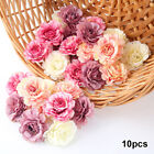 Внешний вид - 10pcs Artificial Silk Fake Peony Flowers Floral Heads Wedding Bouquet Home Decor