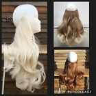"""HALO HAIR EXTENSIONS 18"""" 140G THICK FULL HEAD SECRET WIRE IN SYNTHETIC FLIP HEXY"""