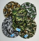 Camouflage Boonie Hat Camo Summer Fishing Hat w/ Snaps