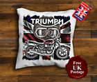 Triumph Street Twin Cushion Cover, Triumph Motorcycle Cushion, Unofficial £10.99 GBP on eBay