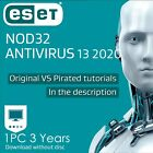 ESET Nod32 Antivirus 12 1 2 3 years Nod 32 Antivirus 2019 Download edition